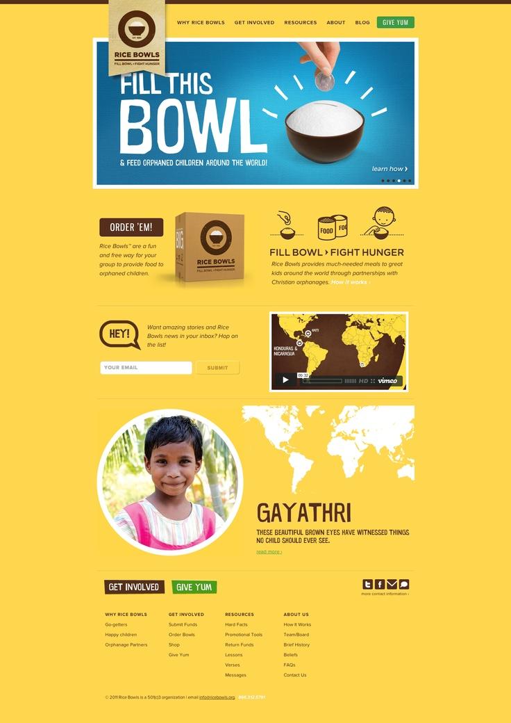 Rice Bowlsgreat cause