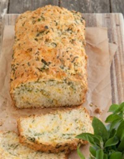 Brood met kaas en kruie