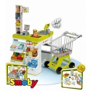 Supermercado de juguete Smoby en http://www.tuverano.com/cocinitas-de-juguete/163-cocinita-smoby-french-touch.html