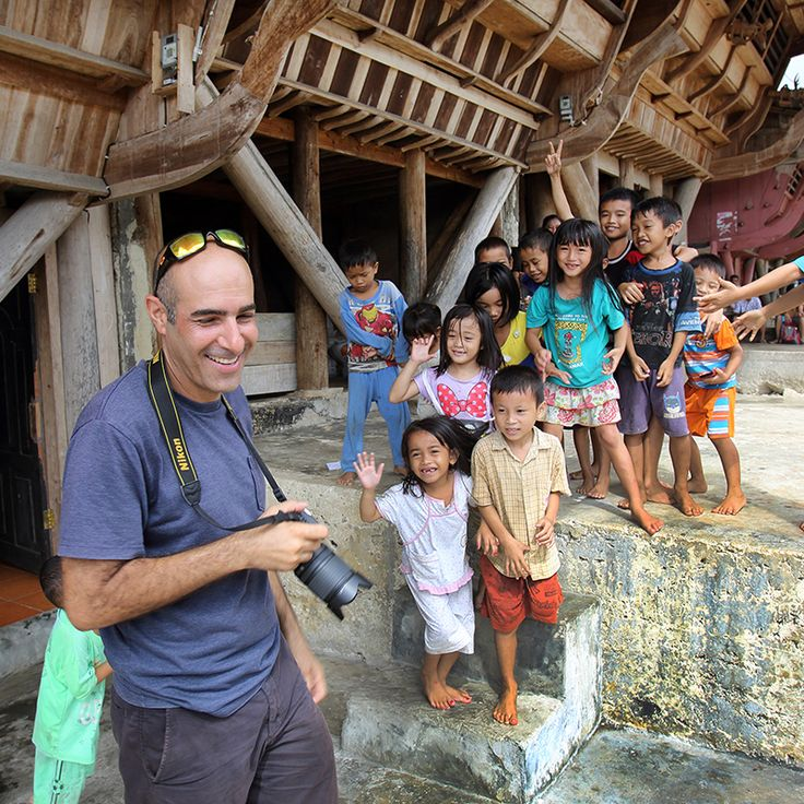 One of the highlights of a trip to Nias Island is visiting the traditional villages with a local guide. Hilimondregeraya village, South Nias, Indonesia. Photo by Bjorn Svensson. www.visitniasisland.com
