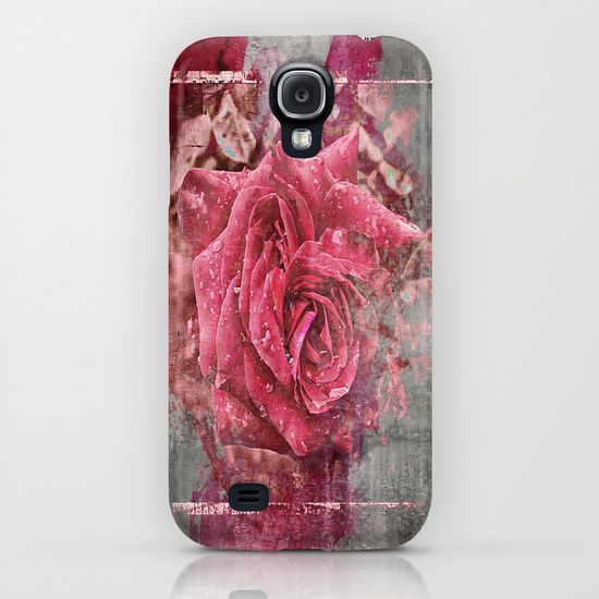 Pink Rose iPhone & iPod Case by AngelEowyn. $35.00
