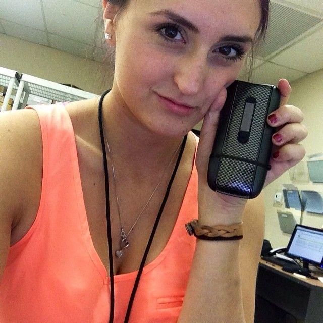 Selfie with the best handheld vaporizer