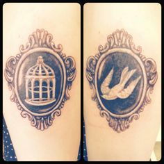 I will be getting a tattoo similar to this! But only the cage! #Bioshock