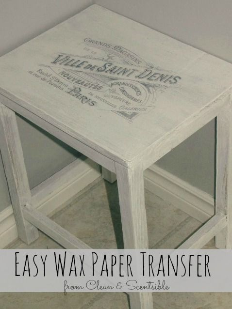 Transfer any printable image to wood!  Easy to follow tutorial.