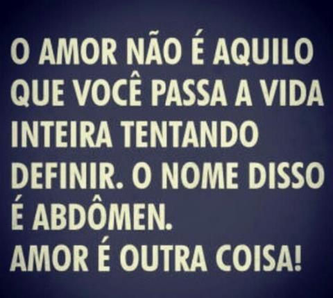 #humor #amor #barrigadefinida #mklifecoach www.mklifecoach.com.br