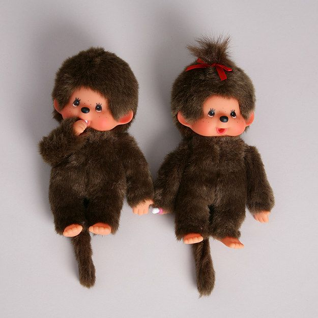 Monchhichi Dolls | 35 Awesome Toys Every '80s Girl Wanted For Christmas @babyjillysmom