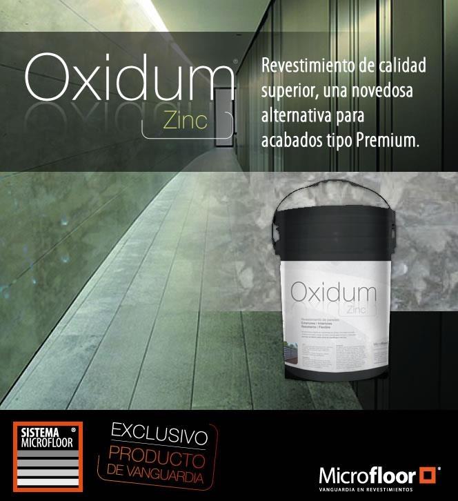 Revestimiento Línea Oxidum - Zinc