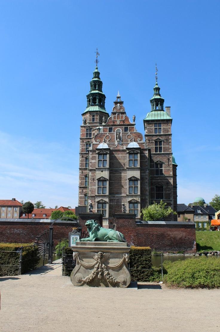 Rosenborg Castle! Copenhagen, Denmark.