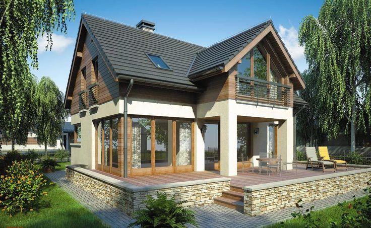 Проект дома из газобетона 11,2 x 9,5м площадь 181 кв. м.