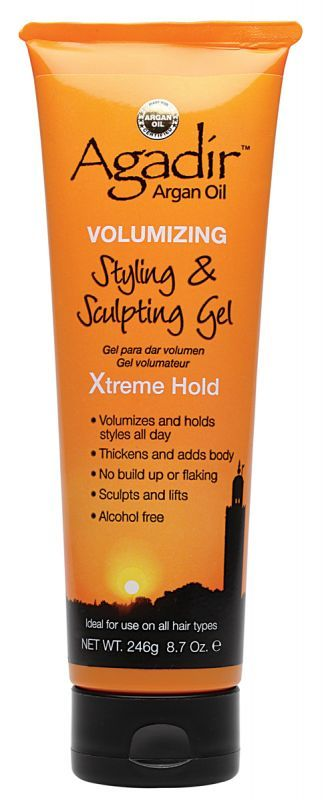 Agadir™ Argan Oil Styling & Sculpting Gel Xtreme Hold..Recommended by Mo Knows Hair, Youtube.