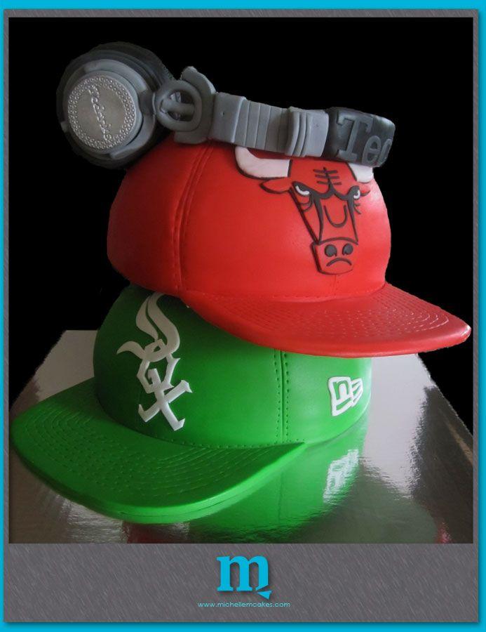 'Hats And Headphones' Cake                                                                                                                                                                               «CaKeCaKeCaKe»