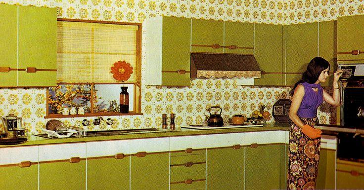 17 best ideas about 70s kitchen on pinterest 1970s for Retro kitchen ideas 1970
