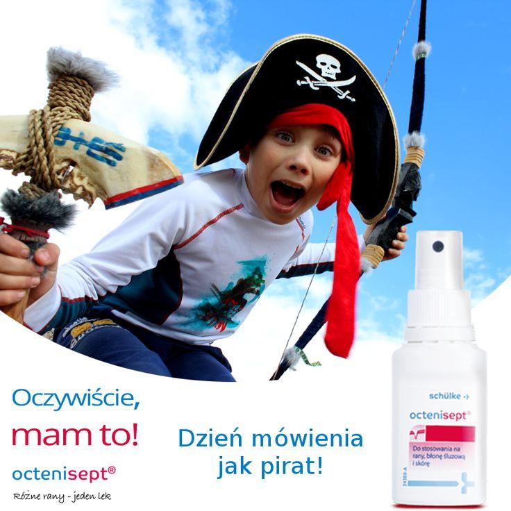 Czy wiedzieliście, że we wrześniu obchodziliśmy Dzień Mówienia Jak Pirat? :-) Każdy z nas mógł się bezkarnie poczuć jak majtek lub kapitan i poużywać sobie marinistycznych przekleństw... :-) Oczywiście bez przesady! ;-)
