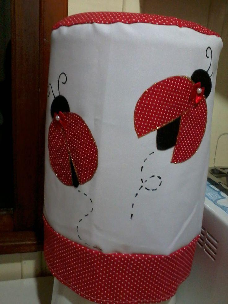 artesanato em tecido natalino capa de garrafão de agua - Pesquisa Google