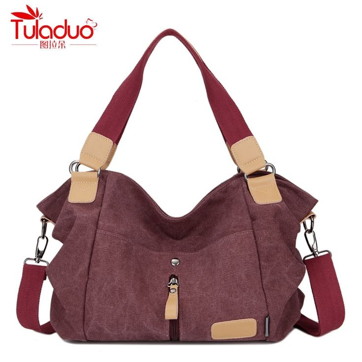 Kulubo Original Fashion Woman's Canvas Shoulder Bag //Price: $33.95 & FREE Shipping //     #love