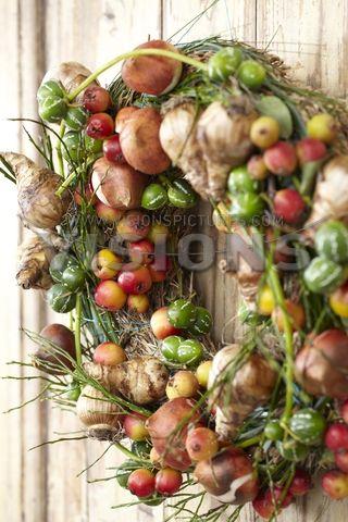 Herfst krans // Autumn wreath