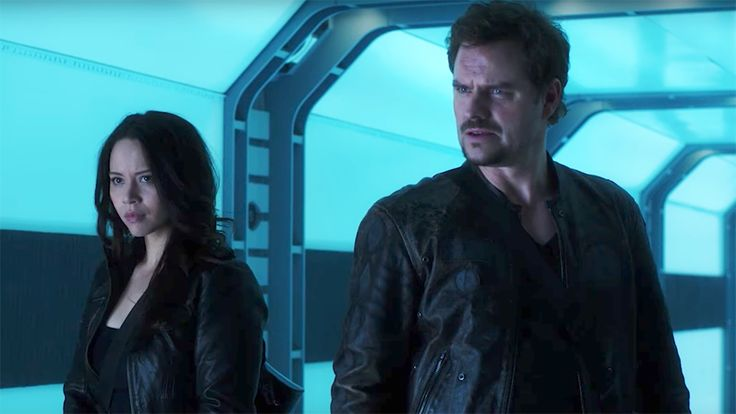 "'Dark Matter': Watch an Exclusive Clip From the Action-Packed Season 3 This summer could surely use an injection of solid science-fiction action involving rogue teams, purloined tech and a smart, resilient robot.   That's one way of saying that ""Dark Matter"" returns for its third Syfy season Friday, with two episodes airing starting at 8 p.m. (At 10 p.m., the s..."