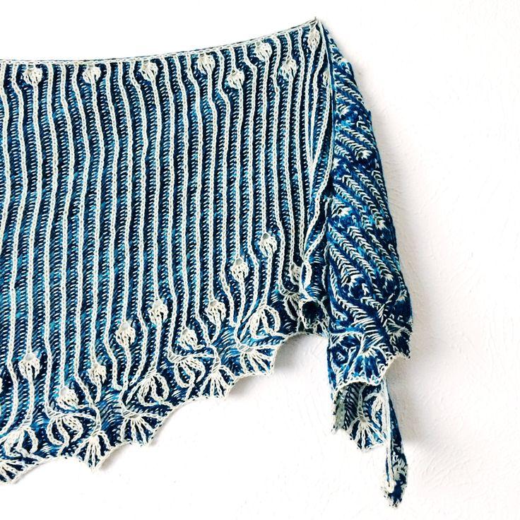 Lesley Anne Robinson Rebel One & Two Shawl Pattern