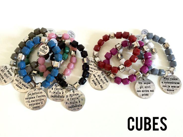 I cubetti di Resina in 9 colori con Medaglia ❤️  CUBES - F/W 2015