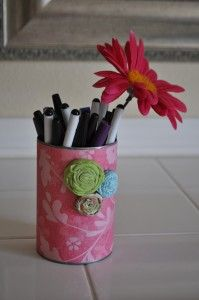 I have to remember this!: 12 Diy, Art Crafts, Crafts Ideas, Crafts Diy Projects, Pens Holders, Pencilpen Holders, Crafts Projects, Diy Pencil, Pencil Holders