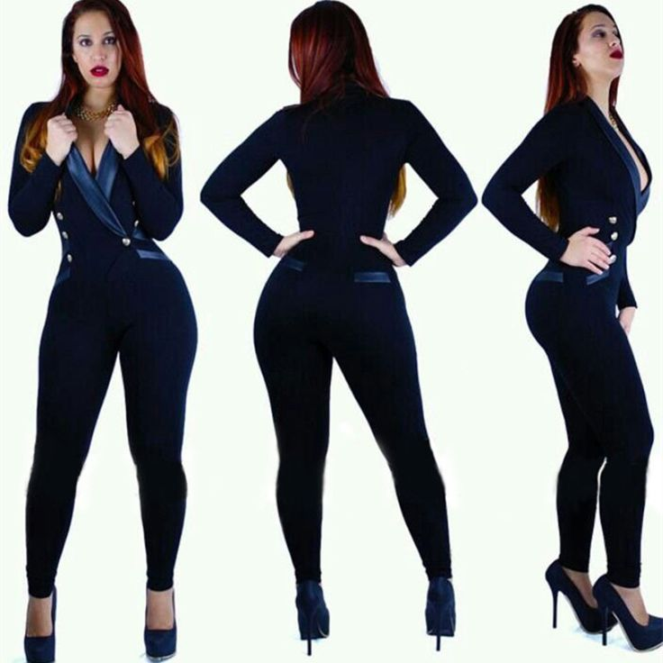 Find More Jumpsuits & Rompers Information about Rompers and Jumpsuit Sexy Bodysuit Fashion Overalls For Women Elegant OL Office Playsuit Outfits Bodycon Club Jumpsuit Body Suit,High Quality bodysuits leotards,China bodysuit fashion Suppliers, Cheap bodysuits toddlers from Enter Discount Store on Aliexpress.com