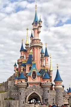 Disneyland Parijs Kasteel Redactionele Foto