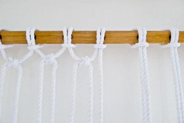 Make it Modern: DIY Two Tone Sail Rope Hammock in home furnishings  Category