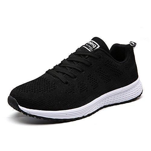 Oferta: 23.98€. Comprar Ofertas de UMmaid Mujer Zapatos Deportivos Plano Zapatillas de Running Deportes para Mujer Gimnasio Correr 38 EU Negro barato. ¡Mira las ofertas!