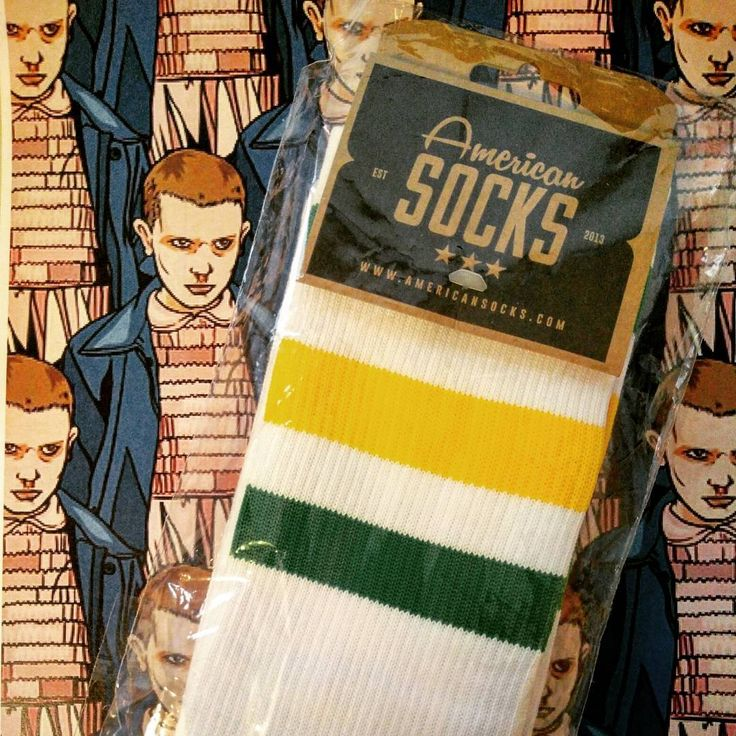 Stranger Things fans around? Can't miss our Eleven socks