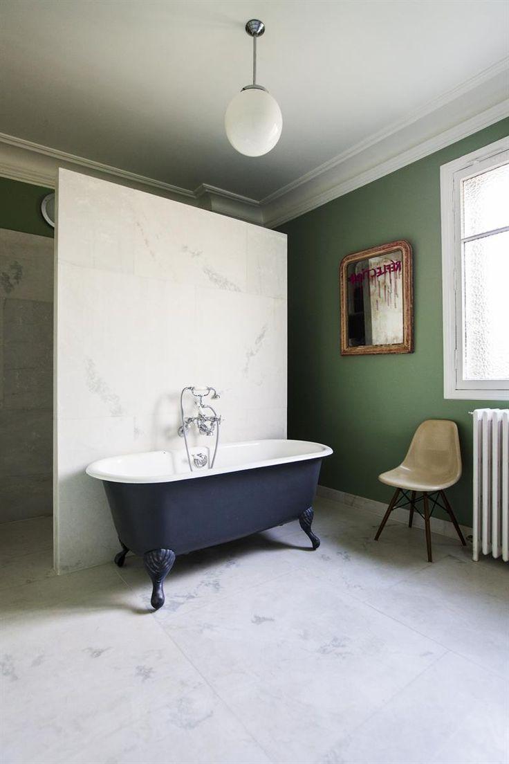 les 20 meilleures id es de la cat gorie baignoire sur pied sur pinterest salle de bains avec. Black Bedroom Furniture Sets. Home Design Ideas