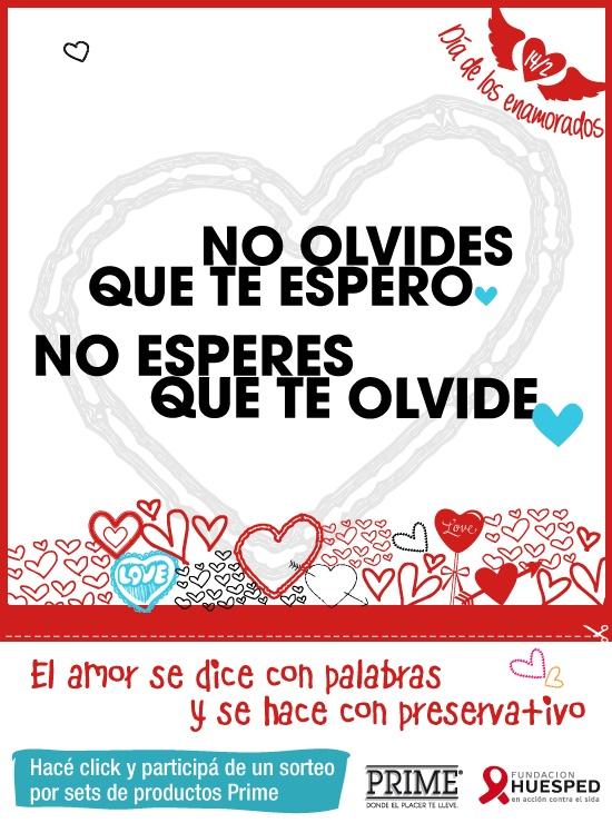 Campaña de Fundación Huésped y PRIME con motivo del Día de los Enamorados