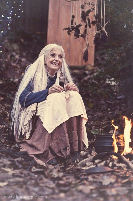 A Crone's wisdom has been earned. She realized through knowledge, that what is of concern today may not be as important tomorrow.
