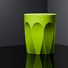 glass collection stool latte lime