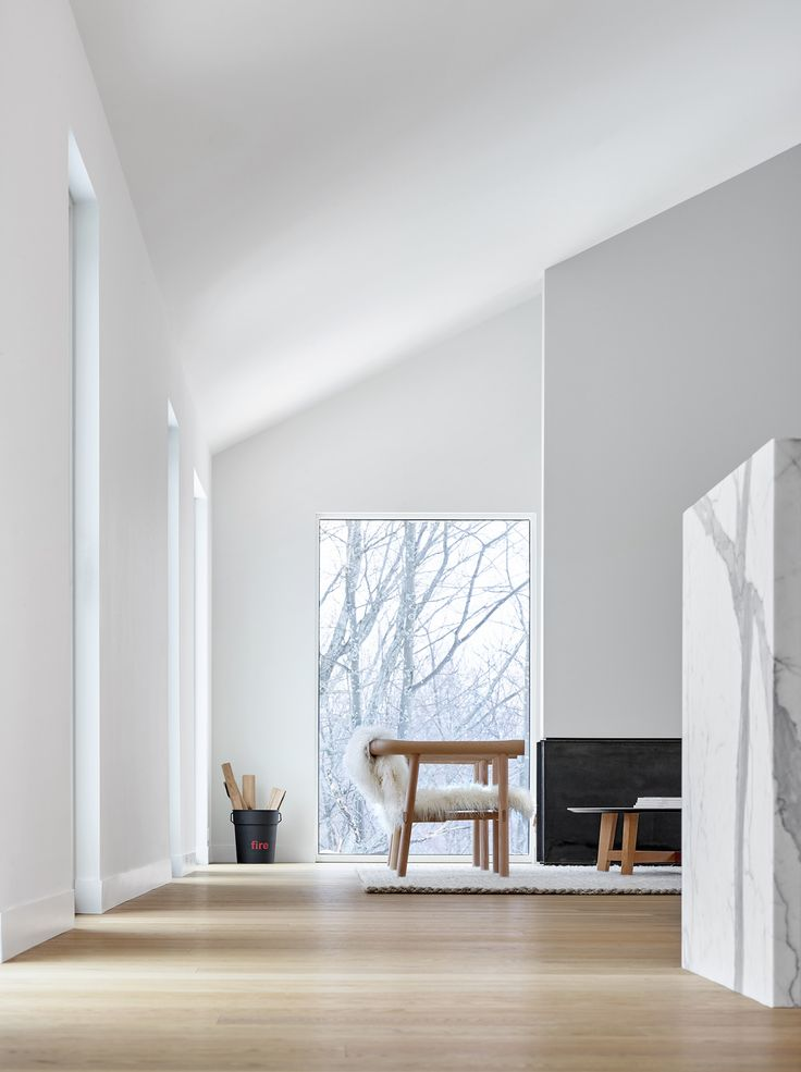 Alta Chalet in Collinwood, Ontario. Designed by AKB - Atelier Kastelic Buffey