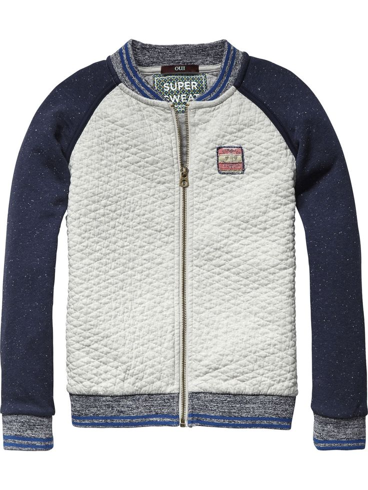 Quilted College Jacket | Inbetween jackets | Boy's Clothing at Scotch & Soda