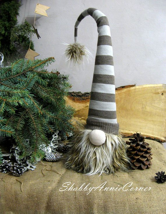 Norwegian Christmas Gnomes Swedish Gnomes Nisse Scandinavian In 2020 Christmas Crafts Norwegian Christmas Christmas Gnome