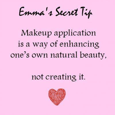 Emma McGill Makeup artist Secret tip
