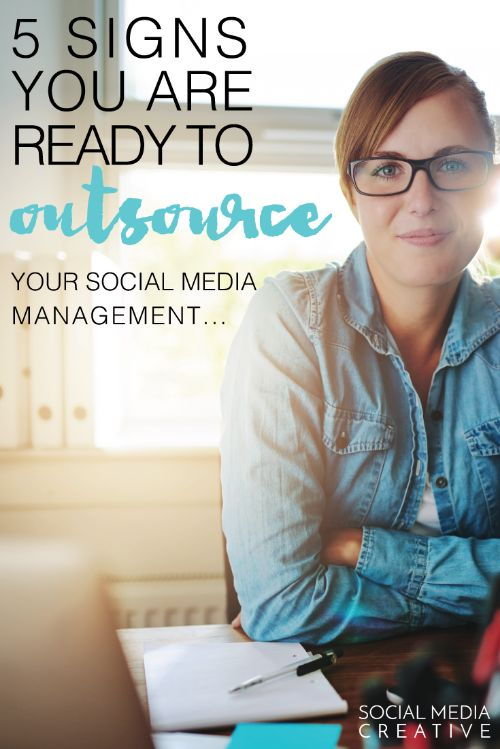 is it time to outsource your social media managment