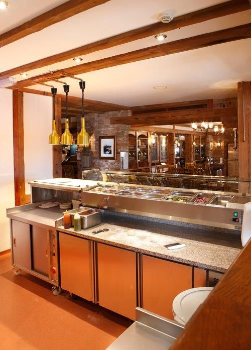 Kitchen Design For Restaurant Gorgeous Inspiration Design