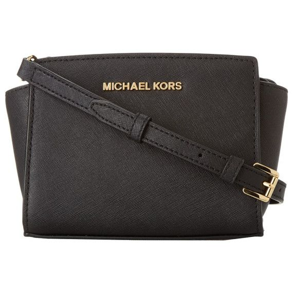 #handbag #black #leather @michaelkors