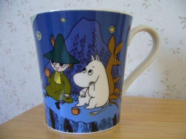 Muumimuki The story of moominvalley -sarja (tummasininen) Yamaka 23,50€
