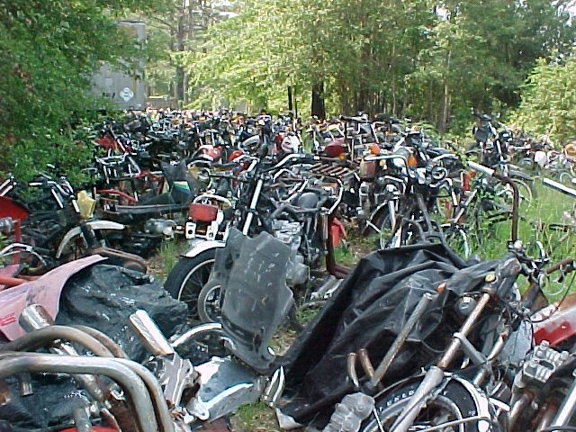 17 Best Images About Motorcycle Junkyard On Pinterest