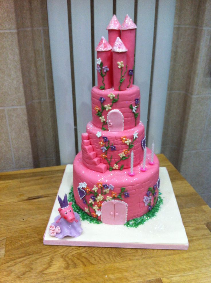 Pin Girls Peppa Pig Birthday Cake Images To Pinterest