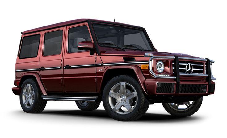 Mercedes-Benz G-class - I would choose a black or gun metal, but BAMF