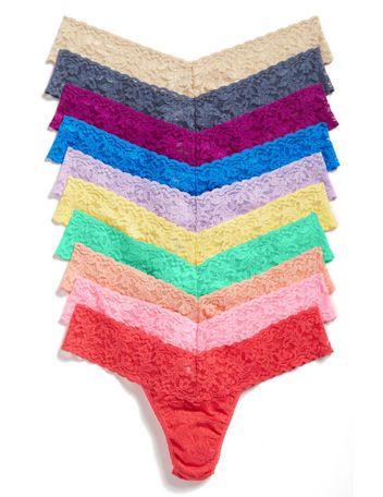 HANKY PANKY----The World's Most Comfortable Thongs, According to Glamour Editors