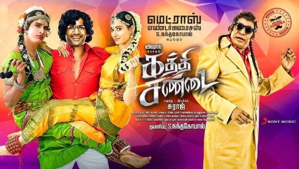 Kaththi Sandai Full Movie HD Tamilgun
