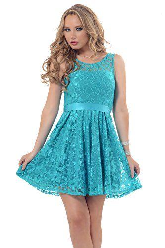 Stunning Rose Lace Overlay Flirty Fit-N-Flare Mini Tulle Tutu Ribbon Bow Dress Hot from Hollywood http://www.amazon.com/dp/B00O84ZH2A/ref=cm_sw_r_pi_dp_HN5avb0HG0BTR