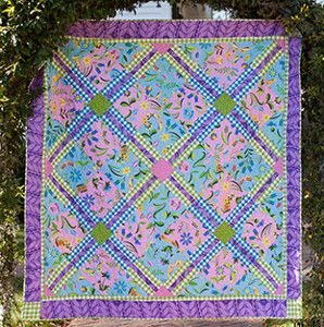 Sweet Lady Jane Quilt | AllFreeSewing.com