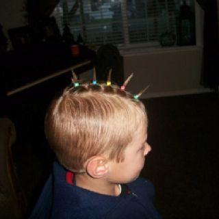 Pin By Ana Mendoza On Kid Hair In 2020 Crazy Hair Boys Crazy Hair Day Boy Wacky Hair