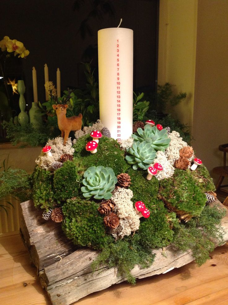 For the kids. Add a nisse/elves or a reindeer to this design and the kids will love it.